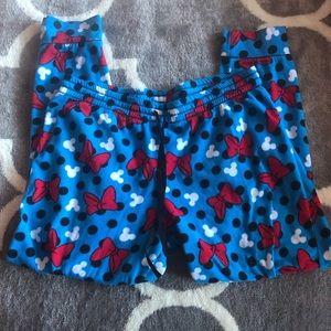 Minnie Mouse Pajama Pants EUC